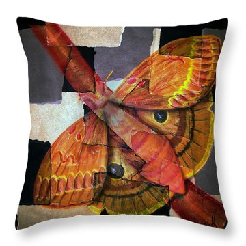 Hidden Beauty Throw Pillow by Ryan Burton