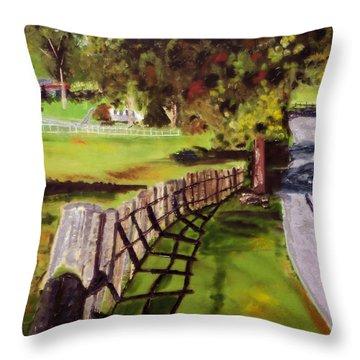 Hidden Brook Farm Throw Pillow