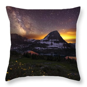 Throw Pillow featuring the photograph Hidden Galaxy by Dustin  LeFevre