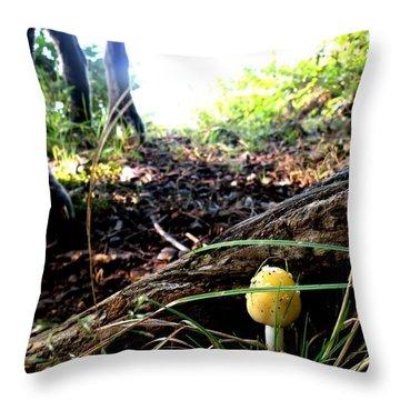 Throw Pillow featuring the photograph Hidden Gem by Carlee Ojeda
