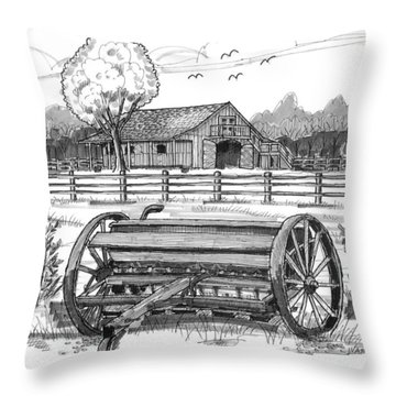 Hidden Hollow Farm 2 Throw Pillow