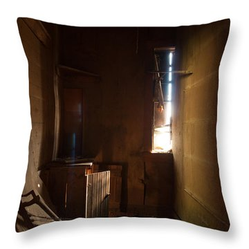 Throw Pillow featuring the photograph Hidden In Shadow by Fran Riley