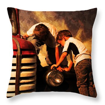 Hidden Treasure Throw Pillow by Jeremy Martinson