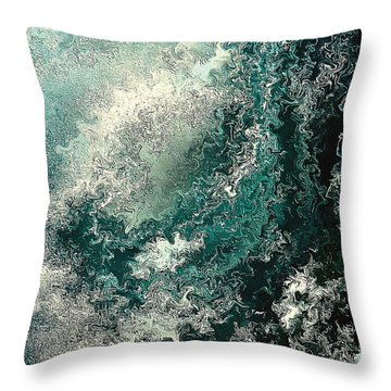 Hideaway By Rafi Talby Throw Pillow by Rafi Talby