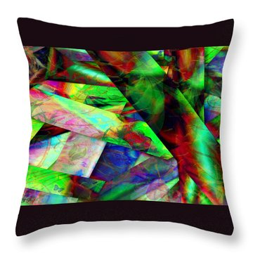 Hideaway Throw Pillow by Paula Ayers