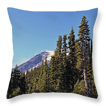 High Country Throw Pillow by Anthony Baatz