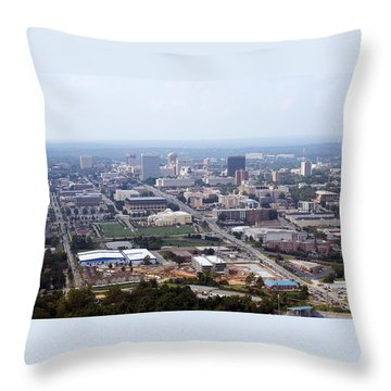 High On Columbia Throw Pillow