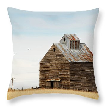High Plains Autumn Throw Pillow