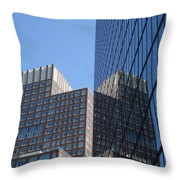 High Rise Reflection Throw Pillow