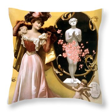 High Rollers Throw Pillow by Terry Reynoldson