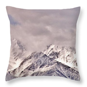High Sierra Cool Throw Pillow