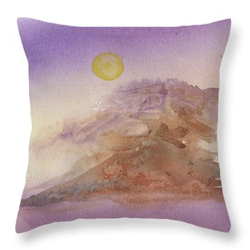 High Sierra Storm Throw Pillow