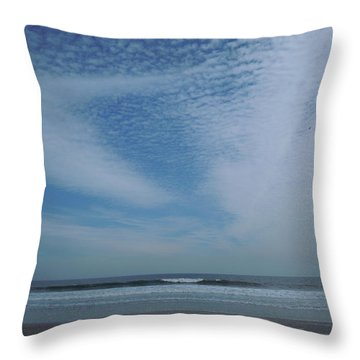 High Sky Throw Pillow by Ellen Meakin