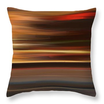 High Speed 3 Throw Pillow