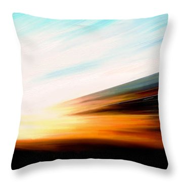 High Speed 6 Throw Pillow