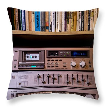 High Technology Throw Pillow