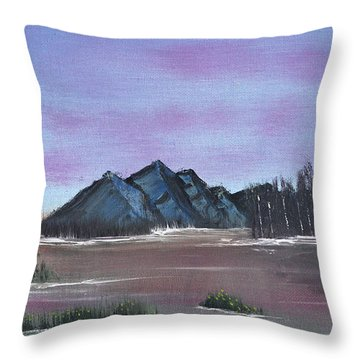 Flooded Throw Pillow