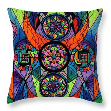 Higher Purpose Throw Pillow by Teal Eye  Print Store