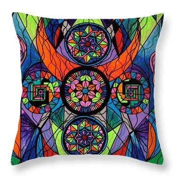 Higher Purpose Throw Pillow