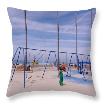 Throw Pillow featuring the photograph Higher  by Susan Garren