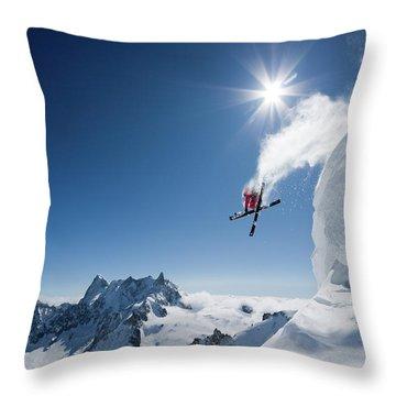 Ice Cold Throw Pillows