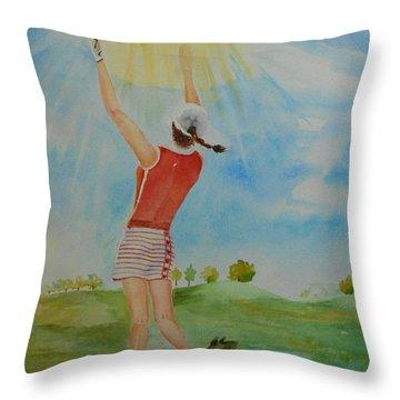 Highest Calling Is God Next Golf Throw Pillow