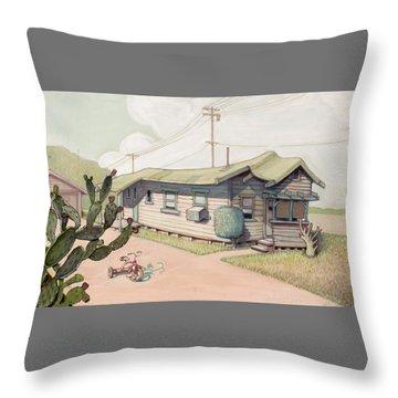 Highland Park - Bare Bones Throw Pillow