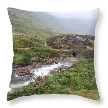 Highland Stream Throw Pillow