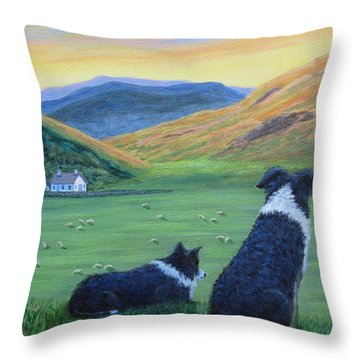 Highland Watch Throw Pillow
