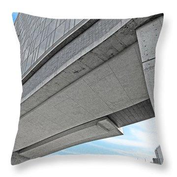 Throw Pillow featuring the photograph Highline Bridge by David Klaboe