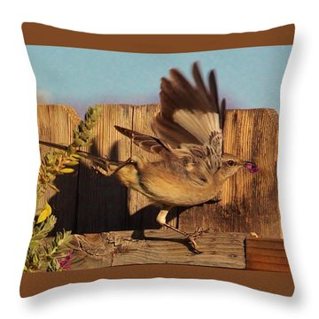 Hightail It Out Of There Throw Pillow