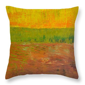 Highway Series - Soil Throw Pillow