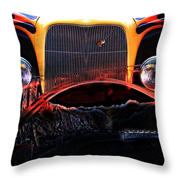 Throw Pillow featuring the photograph Highway To Hell by Gunter Nezhoda