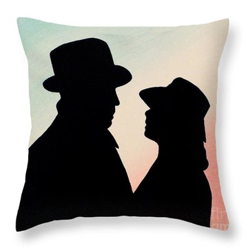 Hill Of Beans Throw Pillow