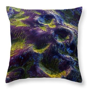 Hills Throw Pillow by Gunnar Orn Arnason