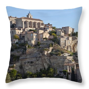 Hilltop City Throw Pillow by Bob Phillips