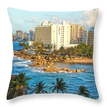 Hilton Conrad Throw Pillow