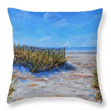 Hilton Head North End Throw Pillow