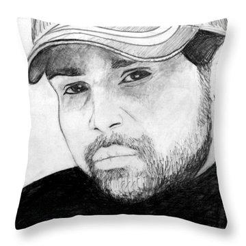 Himesh Reshammiya Throw Pillow by Salman Ravish