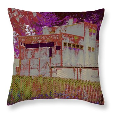 Hindering Heights Throw Pillow