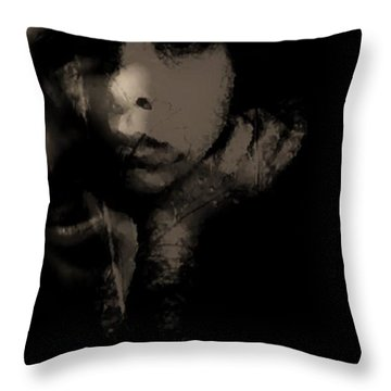 Throw Pillow featuring the photograph His Amusement Her Content  by Jessica Shelton