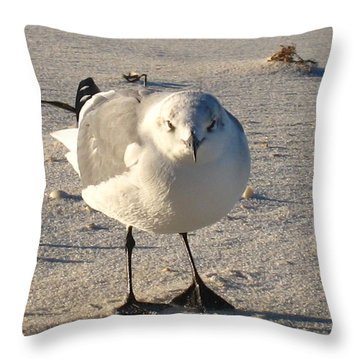 His Day Throw Pillow