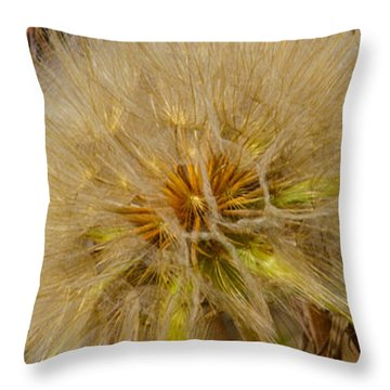 Throw Pillow featuring the photograph His Glory In The Details by Tikvah's Hope