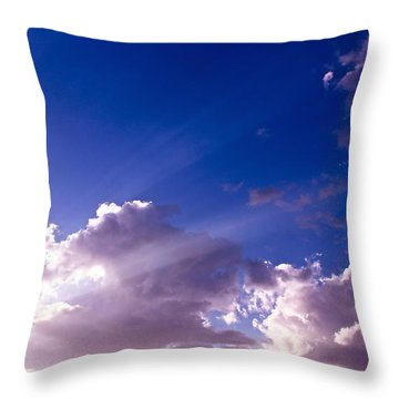 His Glory Throw Pillow by Kume Bryant