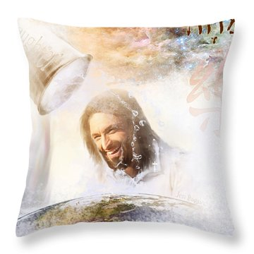 His Joy Throw Pillow