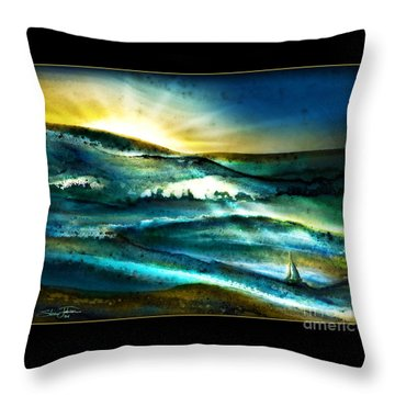 His Mercies Are New Every Morning Throw Pillow by Shevon Johnson