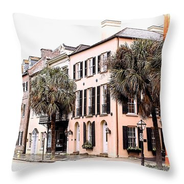 Historic Charleston Throw Pillow