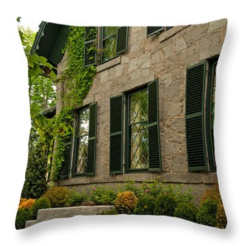 Historic Concord Home Throw Pillow