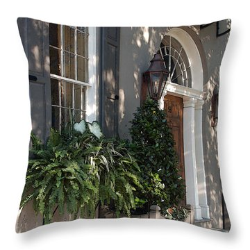 Historic Home - Charleston Throw Pillow