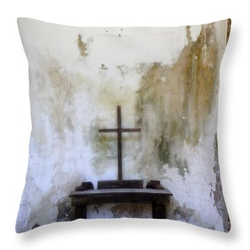 Throw Pillow featuring the photograph Historic Hope by Laurie Perry